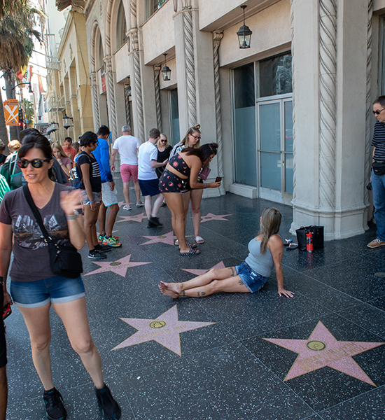 los angeles street star walk of fame